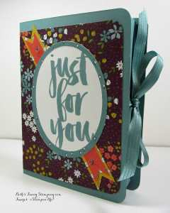 Just For You Card Book Box