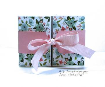 Birthday Bouquet DSP FlipTop Gift Box