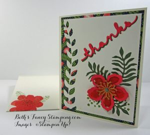 Botanical Blooms envelope